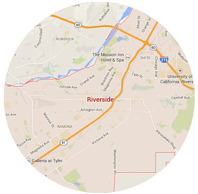 Riverside Garage Door Service Areas