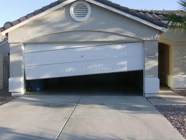 Garage Door Off Track In Riverside Tracks Cables