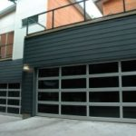 contemporary-style-glass-garage-door-riverside